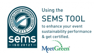 Using SEMS ISO 20121