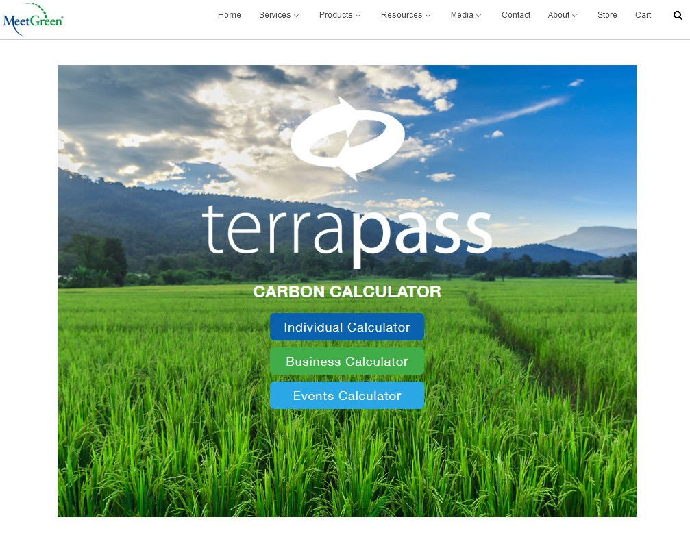 TerraPass & MeetGreen Join Forces for Carbon Calculator Integration