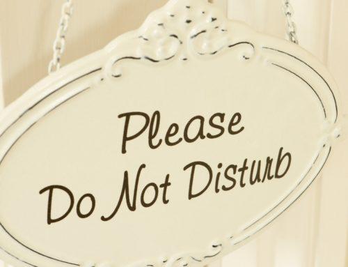 Do Not Disturb Until 2016