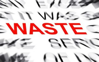 Waste is a Noun and a Verb