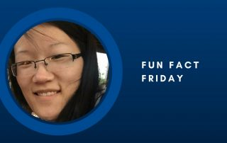 Fun Fact Friday - Kate Wilson