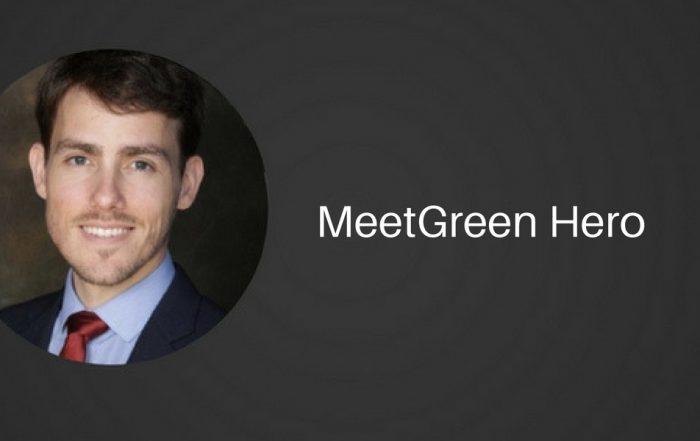 Sam Hummel MeetGreen Hero