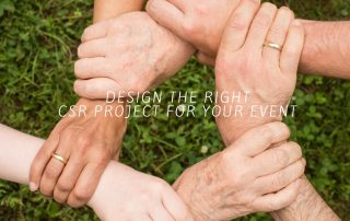 Design the Right CSR Project for Your Event