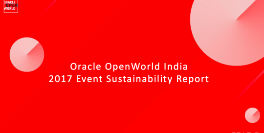 Oracle OpenWorld India 2017