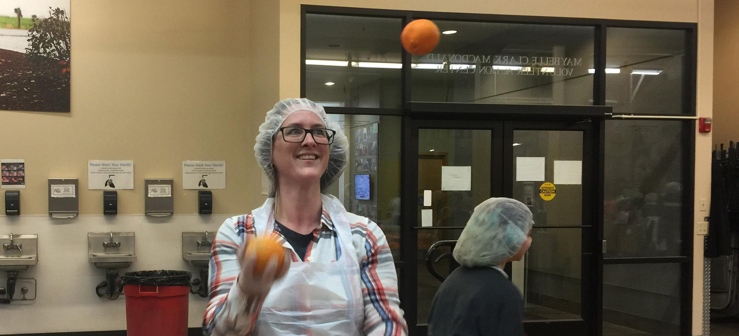 MeetGreen CSR - Oregon Foodbank