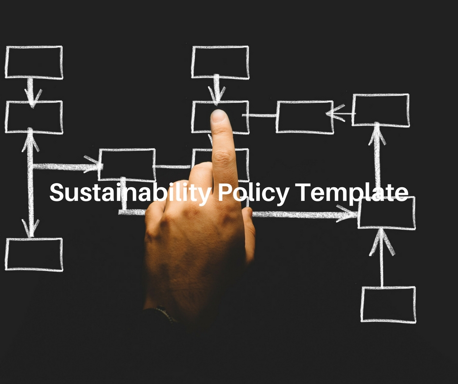 sustainability policy template meetgreen