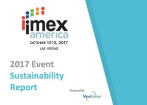 IMEX 2017 Sustainability Report