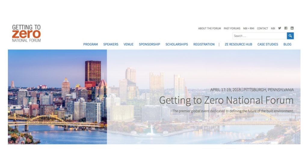 Getting To Zero National Forum