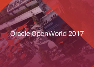 Oracle OpenWorld 2017