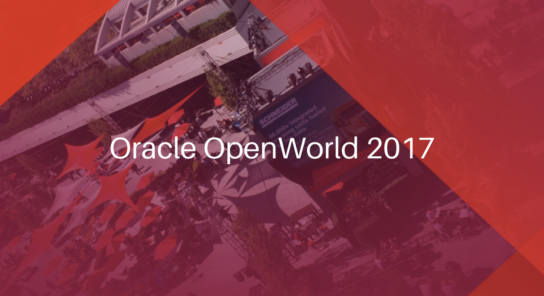Oracle Open World 2017