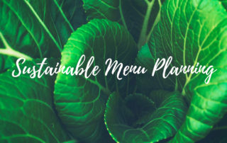 Sustainable Menu Planning