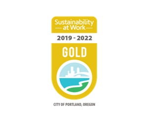 Sustainaibility At Work Gold Certification
