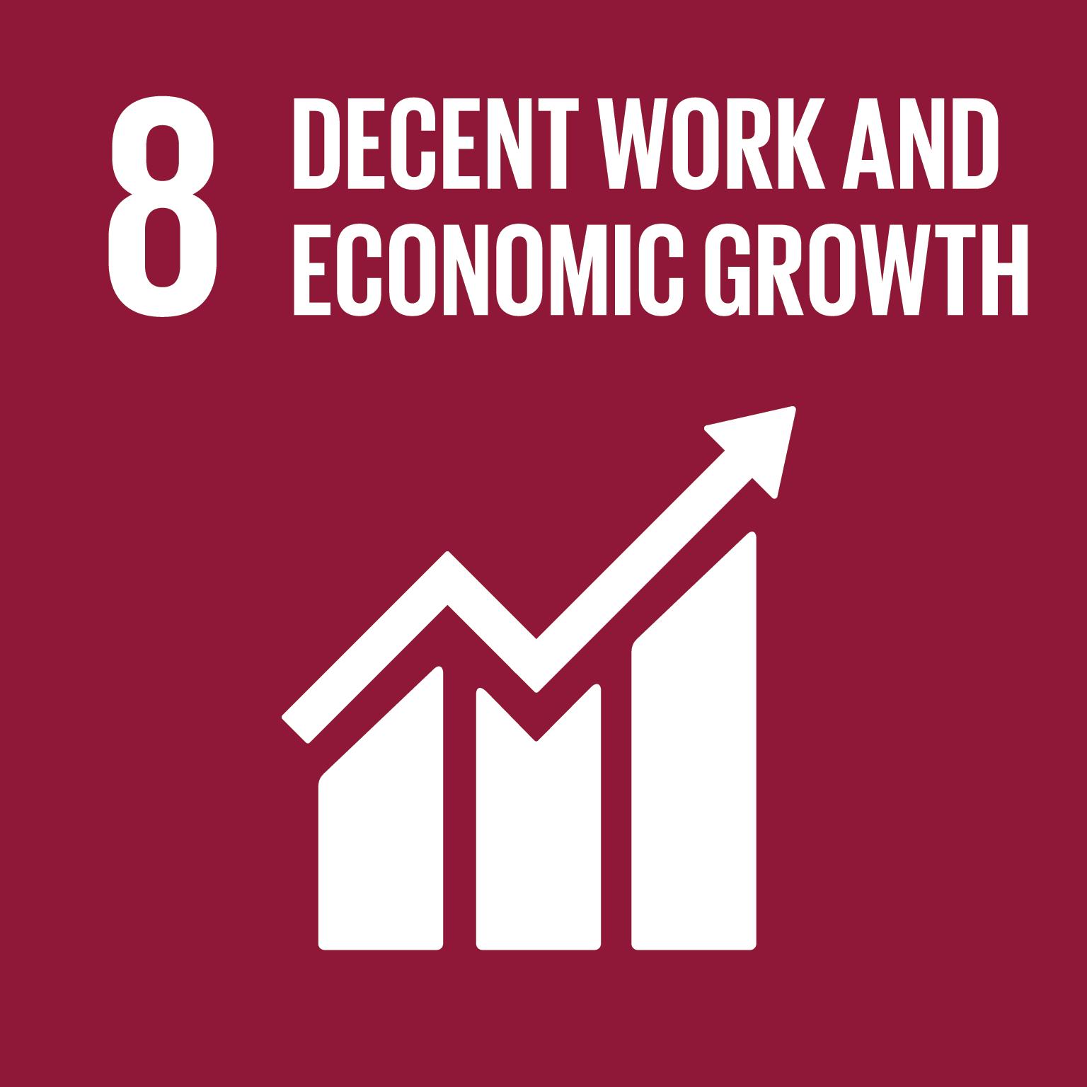 Goal 8 - Decent Work & Economic Growth