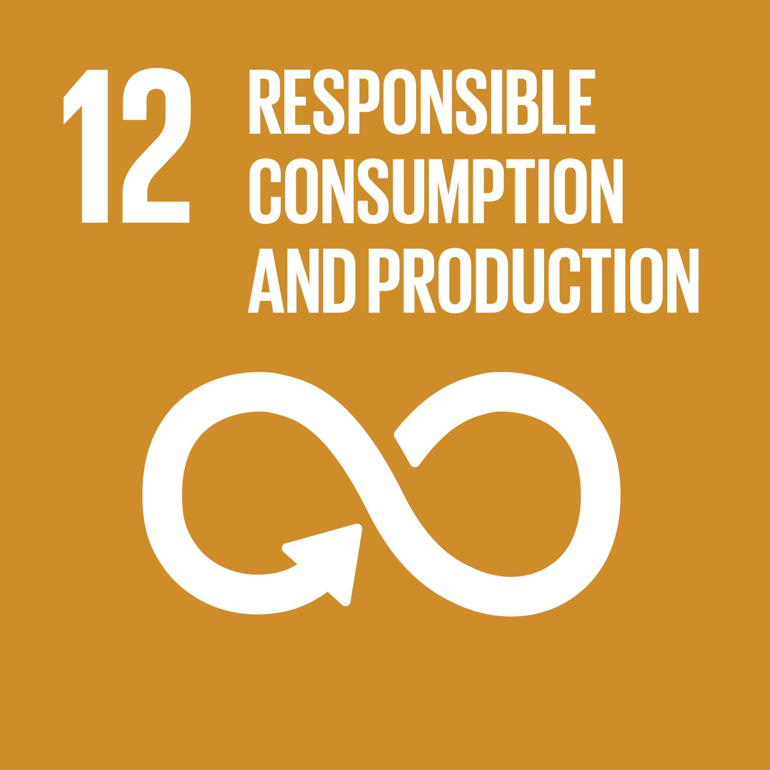 Goal 12 - Responsible Consumption & Production