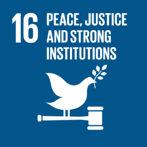 SDG #16 - Peace, Justice, and Strong Institutions