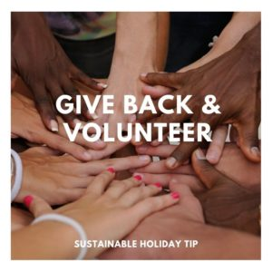 Give Back & Volunteer