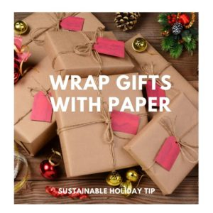 Wrap Gifts with Paper