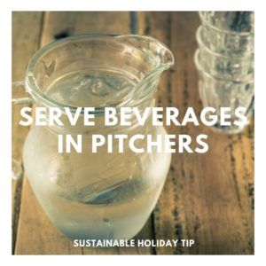 Serve Beverages in Pitchers