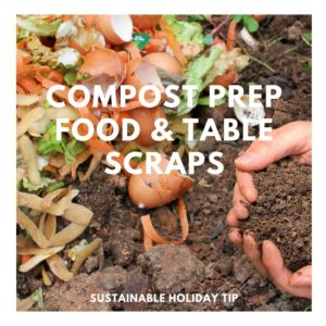 Compost Prep Food & Table Scraps