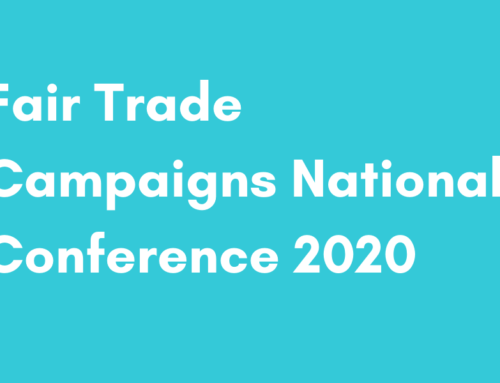 Fair Trade Campaigns National Conference 2020