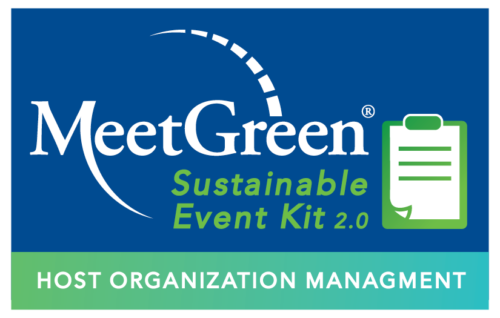 MeetGreen Sustainable Event Kit 2.0 - Host Organization Management