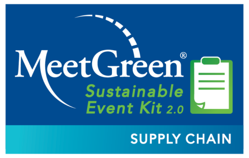 MeetGreen Sustainable Event Kit 2.0 - Supply Chain