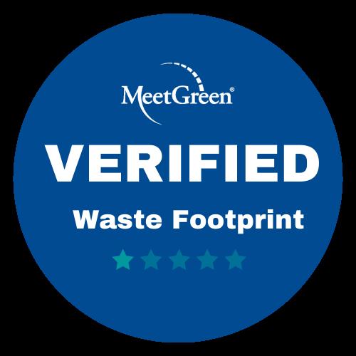 MeetGreen Verified Waste Footprint