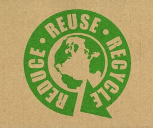 REDUCE PRINTED MATERIAL USE RECYCLED CONTENT