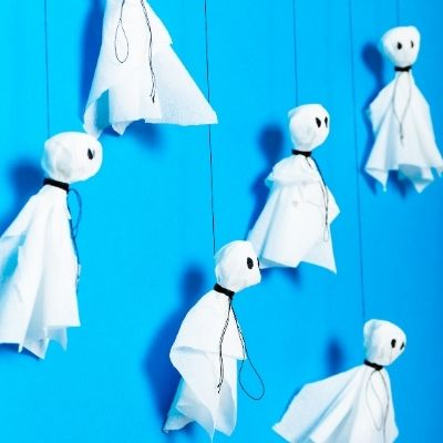 Sustainable and Safe Halloween Tips Activities Ghosts