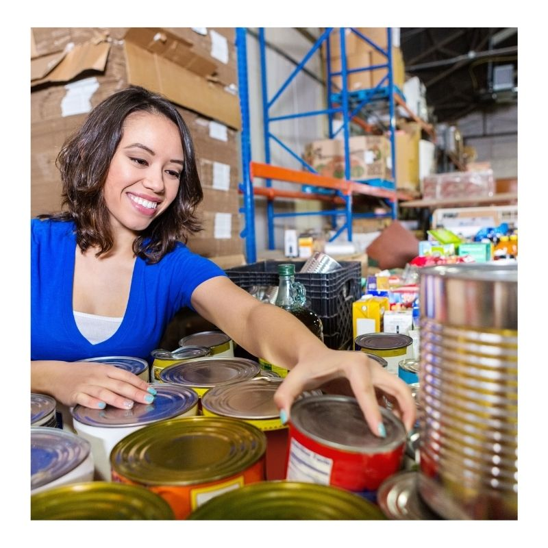 Sustainable Tips for the Holidays Donate Non Perishables