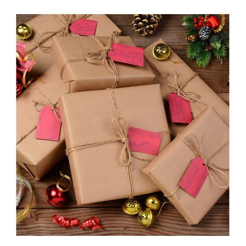 Sustainable Tips for the Holidays Wrap Gifts in Paper
