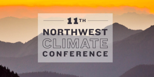 Northwest Climate Conference 2021
